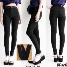 Beli Fashion Celana Jeans Wanita Celana Jeans High Waist Pants Premium Dengan Kartu Kredit