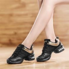 Spesifikasi Fashion Comfy Modern Jazz Hip Hop Dance Sepatu Wanita Dilengkapi Ventilasi Sneakers Golden Intl Merk Oem
