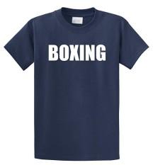 Modis Lucu Tinju Fighter Berjuang MMA Celana Boxer Latihan Kustom Kausal Katun Pria Lengan Pendek Sepanjang Warna Biru Angkatan Laut- internasional