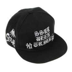 Harga Fashion Snapback Topi Polos Keren Untuk Pria Topi Bill Hip Hop Bisbol Dapat Disesuaikan Topi Trucker Hitam B Intl Online
