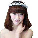 Beli Fashion Kristal Berlian Imitasi Accesory Rambut Pengantin Pernikahan Cicilan