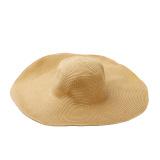 Jual Beli Musim Panas Fashion Lucu Yang Dapat Membuat Orang Yang Melihatnya Tertawa Terbahak Bahak Atau Justru Kesal Karena Merasa Wanita Jerami Topi Bertepi Lebar Topi Pantai Lebar Lipat Topi Matahari Coklat