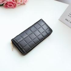 Fashion Dompet Wanita korea - Panjang Oliver Wallet (Black) | Dream Shop