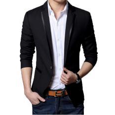 Beli Fashion Exclusive Jas Pria Pria Black Magic Suit Hitam Lengkap