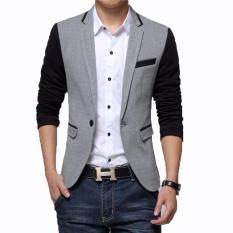 Beli Fashion Exclusive Shiny Slim Line Suit Terbaru