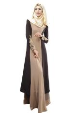 Fashion Wanita Kain Lap Baru Desain Penawaran Khusus Appliques Dewasa Jilbab dan Abayas Malaysia Muslim Wanita Dress-Intl