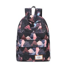 Toko Fashion Floral Women Backpack Sch**L Bag For Teenagers Ladies Girls Back Pack Sch**L Bags Bagpack Mochila Black Intl Termurah