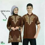 Review Fashion Flower Baju Couple Muslim Kencana Brown Bordiran Fashion Flower Di Dki Jakarta