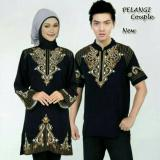 Daftar Harga Fashion Flower Baju Couple Muslim Pelangi Black Bordiran Fashion Flower