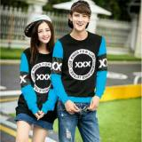 Fashion Flower Baju Couple Sweater Pasangan Tripple X Lp Black Turkis Cowok Dan Cewek Fashion Flower Diskon 30