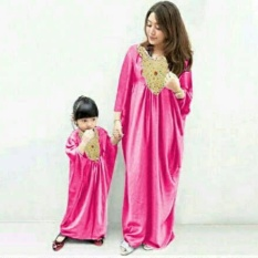 FASHION FLOWER-BAJU KELUARGA  COUPLE KAFTAN  FAMILY COUPLE  BAJU COUPLE  COUPLE MOM KIDS MISSY-FANTA (IBU DAN ANAK)