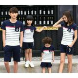 Ulasan Lengkap Fashion Flower Baju Keluarga Family Couple Kaos Family Sailor Anchor 2 Anak White Navy Ayah Ibu Anak2