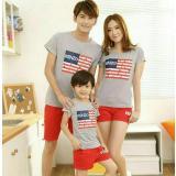 Dapatkan Segera Fashion Flower Baju Keluarga Kaos Family Family Fashion Family Couple Baju Kembaran Kaos Family Couple Bendera 1 Anak Misty Ayah Ibu Anak