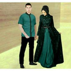 FASHION FLOWER-BAJU PASANGAN  BAJU COUPLE  BUSANA MUSLIM  MUSLIM WEAR  FASHION COUPLE  BAJU COUPLE BUSANA MUSLIM ZAHIRA-TOSCA (COWOK DAN CEWEK)