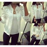Harga Fashion Flower Jaket Wanita Jaket Brukat Jaket Fashion Blazer Wanita Jaket Brukat Claudia White Inner Fashion Flower Online
