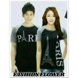 Review Fashion Flower Baju Couple Kaos Pasangan Kaos Couple Kimono Paris Hitam Abu Cowok Dan Cewek Di Indonesia