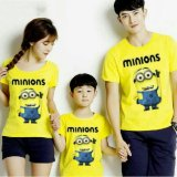Promo Fashion Flower Baju Keluarga Kaos Family Family Couple Super Mini 1 Anak Yellow Ayah Ibu Anak Fashion Flower