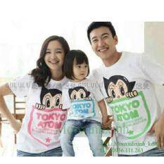 Jual Fashion Flower Baju Keluarga Kaos Family Family Couple Tokyo 1 Anak Putih Ayah Ibu Anak Fashion Flower Online