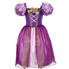 Fashion Gadis Gaun Anak Partai Halloween Gaun Anak Fairy Tale Drama Putri Gaun Umur 2-10 Anak Cosplay Kostum Baju Anak-Ungu-Intl