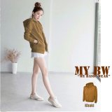 Jual Beli Fashion Hoodie With Zippper Khaki Indonesia