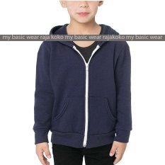 Beli Fashion Hoodie Zipper Kids Navy Di Indonesia