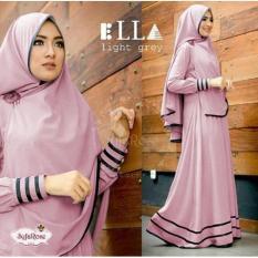 Harga Fashion Id Gamis Syari Murah Baju Muslim Maxi Satu Set
