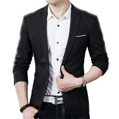 Beli Fashion Jas Blazer Pria Keren Blacklist Hitam Fashion Online