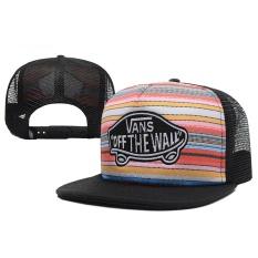Fashion Kasual Luar Ruangan Snapback Hat Vans Snapbacks Disesuaikan untuk Outdoor Olahraga Topi Baru Gaya Klasik Fashion Tren-Intl
