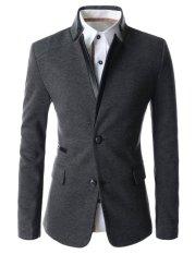 Toko Fashion Korea Style Blazer Pria Korean Style Elegant Fk 75 Grey Terdekat