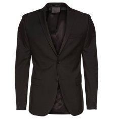 Fashion Korea Style Jas Pria Formal Full Black Style FK-57 Hitam