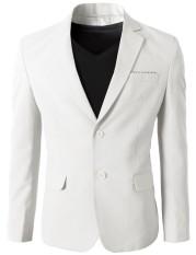Harga Fashion Korea Style Jas Pria Maskulin Double Button Tf 30 Putih Termahal
