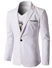 Jual Fashion Korea Style Jas Pria Semi Formal Fk 16 White Murah