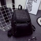 Beli Fashion Korean Backpack Tas Wanita Import Ransel Hitam Online