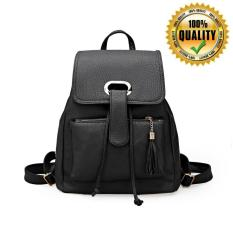 Fashion Korean Bag Tas Wanita Import Ransel Hitam New Arrival Original