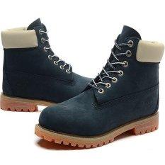 Spesifikasi Fashion Leather Boots Untuk Timberland 26578 Gaya Klasik Wanita Biru Putih Intl Terbaru