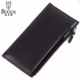 Harga Fashion Leather Wallet Dompet Kulit Bogesi 837 Korean Style Elegan Pria Wanita Hitam Yang Murah