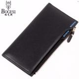 Katalog Fashion Leather Wallet Dompet Kulit Bogesi 837 Korean Style Elegan Pria Wanita Hitam Bogesi Terbaru
