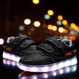 Spesifikasi Fashion Led Flashing Kids Anak Kets Hitam Intl Merk Oem