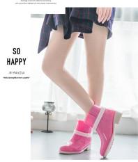 Beli Barang Fashion Martin Rain Boots Wanita Bukti Air Rainshoes Karet Rian Sepatu Merah Muda Online