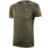 Katalog Fashion Pria Dan Anak Laki Laki Berlari Bersepeda Mendaki Cepat Kering Gym Kebugaran Olahraga T Shirt Tentara Hijau 301 Internasional Yicc Terbaru