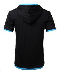 Spesifikasi Fashion Pria Kemeja Polo Hoodie Lengan Pendek Baru