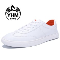 Spesifikasi Fashion Men High Quality Casual Shoes Fashion Sport Sneakers White Shoes Intl Oem Terbaru