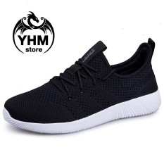Beli Fashion Men High Quality Fly Line Lightweight Sport Shoes Fashion Sneakers Running Shoes Intl Oem