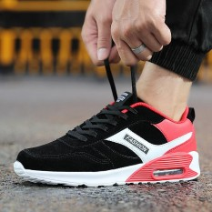 Miliki Segera Fashion Men Sport Shoes Air Cushion Running Shoes Men Leather Face Sneakers Size 37 46 Intl