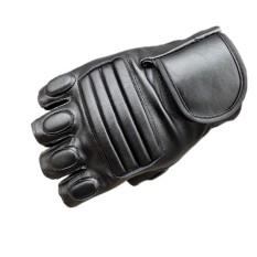 Fashion Pria Musim Dingin Kulit Motor Olahraga Outdoor Protection Fighting Sarung Tangan-Intl