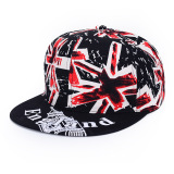 Harga Fashion Men Women Hip Hop Visor Flat Bboy Hat Snapback Baseball Adjustable Cap Terbaik