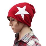 Harga Fashion Pria Wanita Pecinta Musim Gugur Musim Dingin Ski Katun Longgar Merajut Topi Kupluk Star Merah Intl Yang Murah Dan Bagus