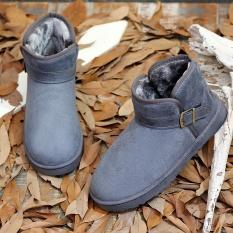 Review Busana Pria Dan Sepatu Musim Dingin Wanita Velvet Jauhkan Hangat Santai Salju Boots Ukuran 35 44 Abu Abu Intl