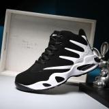 Busana Pria Sepatu Basket Sepatu Pasangan Hitam Intl Original