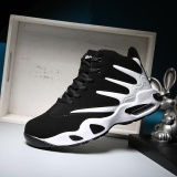 Diskon Busana Pria Sepatu Basket Sepatu Pasangan Hitam Intl Branded